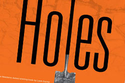 Poster for theater production of Holes