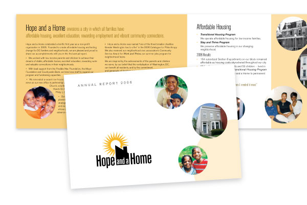 Hope and a Home Annual Report